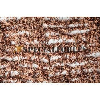 """Δίχτυ σκίασης παραλλαγής Ερήμου (Μπεζ) """"Φτέρη"""" (Αντοχής) 2x3"""