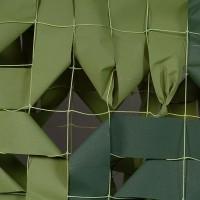 """Δίχτυ σκίασης παραλλαγής Πράσινο (Ανοικτό - Σκούρο) """"Αντοχής"""" 3x6"""