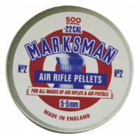 Βλήματα Marksman 5.5mm στρογγυλά (500 pcs)